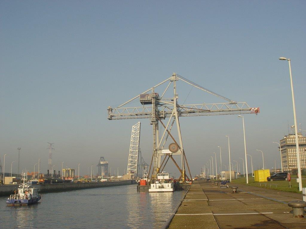 Kalmar Container Kraan verkocht