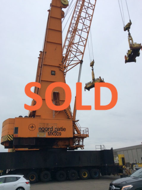 SOLD: 120 tons Gottwald
