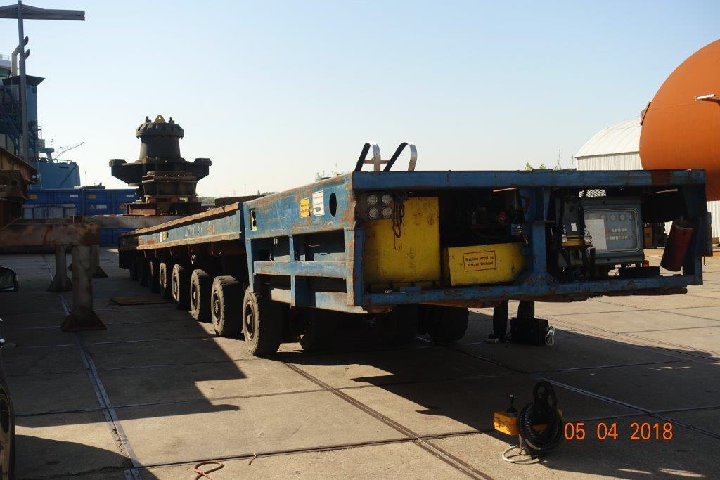 Kamag, 180 tons, te koop: zeer goed werkend!